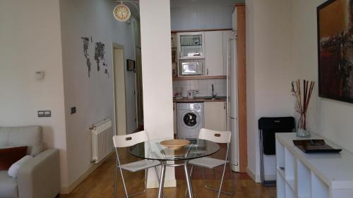 Küche/Küchenzeile in der Unterkunft La Latina