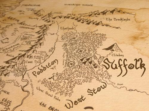 A bird's-eye view of Pod Hollow: Hobbit Home