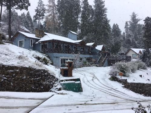 Casa en Bariloche durante el invierno