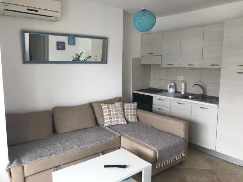 A seating area at Blue apartment Magnolia