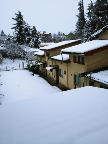 Casa Campo durante el invierno