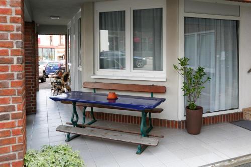 Ein Billardtisch in der Unterkunft City Apartments Gladenbach