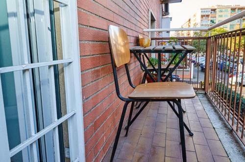 A balcony or terrace at Domus Appio Claudio