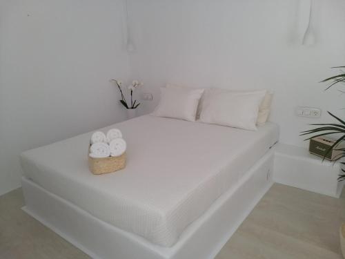 A bed or beds in a room at Elektra