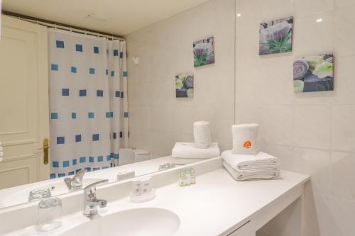 Un baño de Aconcagua Apartments