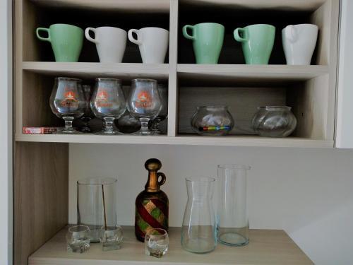 Getränke in der Unterkunft Al Torrione