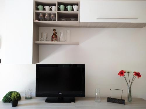 TV/Unterhaltungsangebot in der Unterkunft Al Torrione