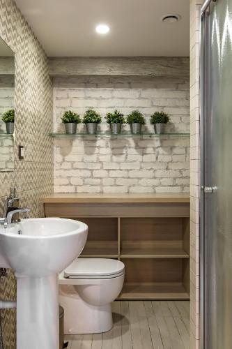 Ванная комната в Centeral Hotel Moscow