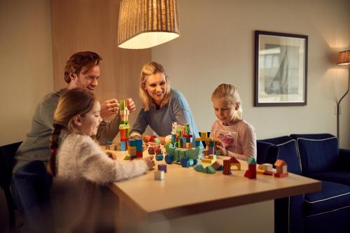 WestCord Appartementen Noordsee에 숙박 중인 가족