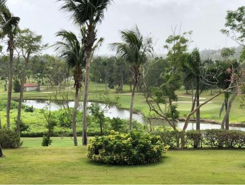 A garden outside Rio Mar Village - Golf Course View