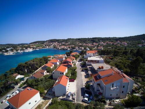 Uma vista aérea de Apartments Villa Olea