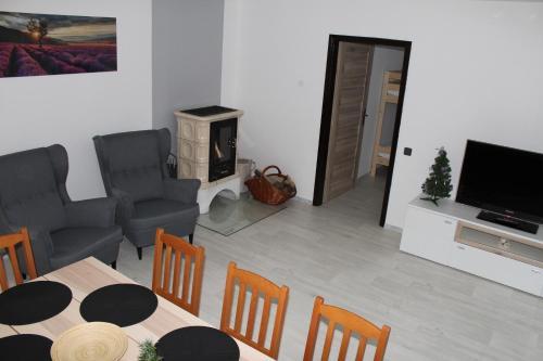 Posezení v ubytování Vila Marianna