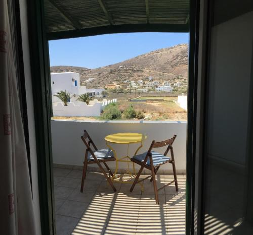 A balcony or terrace at Ilias Place