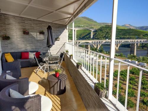 Uma varanda ou terraço em Vistadouro