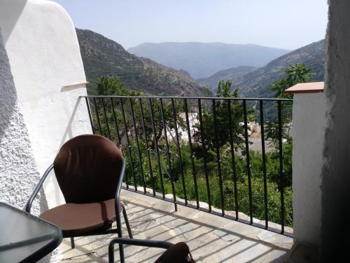Ein Balkon oder eine Terrasse in der Unterkunft Apartamentos Turísticos Rural Los Tinaos