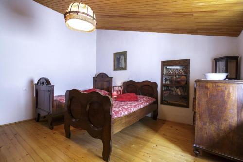 A seating area at Antique Central Komiža House Nona Nika