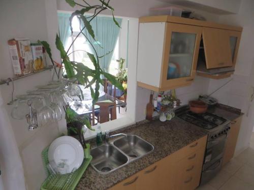 Una cocina o kitchenette en Barrancas Del Golfo