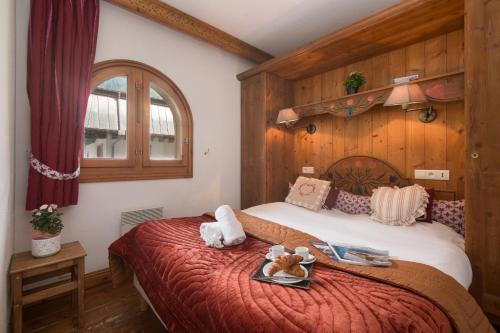 Un ou plusieurs lits dans un hébergement de l'établissement Résidance Le Cristal - Grands Montets 11