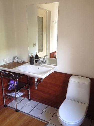 Ванная комната в Ratshof Villa