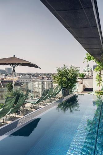 The swimming pool at or close to Grand Ferdinand Vienna – Your Hotel In The City Center
