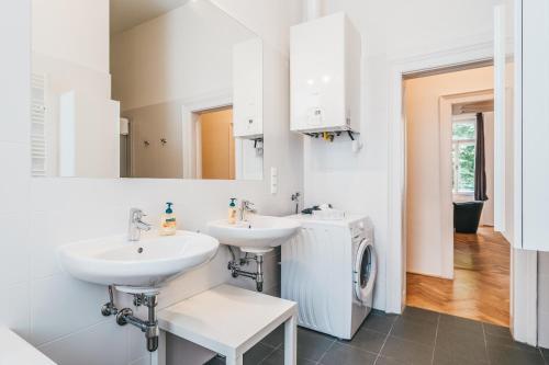 Ванна кімната в Duschel Apartments Imperial Living
