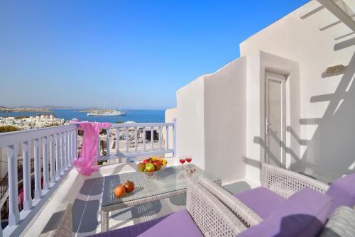 Un balcón o terraza de Marietta's