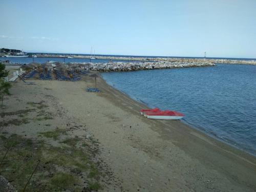O plajă de la sau din apropierea acestei case de vacanță
