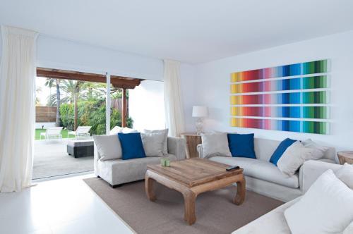 Zona de estar de Villas Pasito Blanco