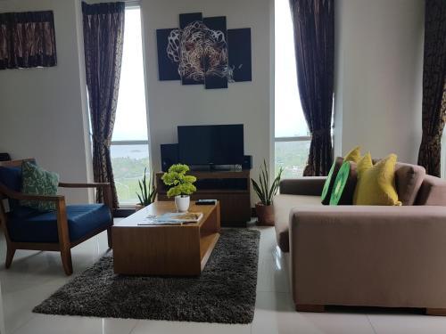 Zona de estar de Mactan Newtown Ocean View 360degree