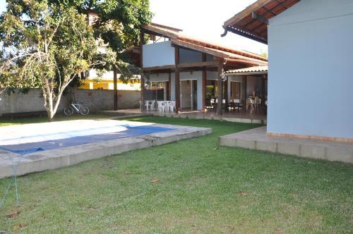 The swimming pool at or near Casa na praia