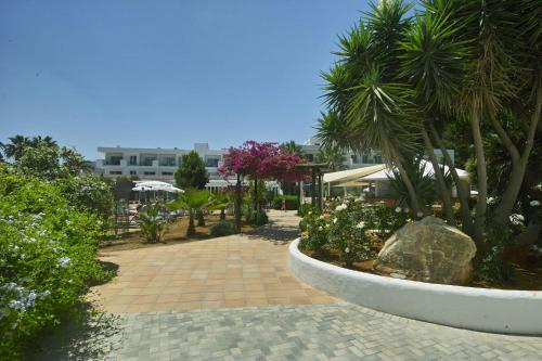 A garden outside Balansat Resort