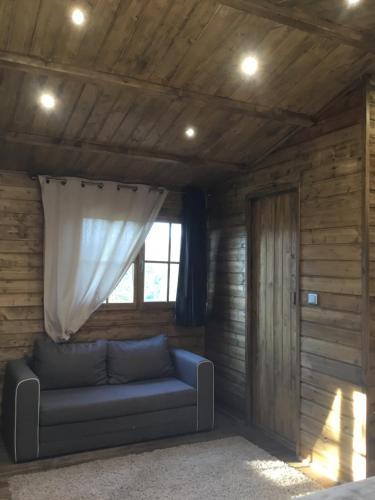 Zona d'estar a Chalet Vezzani