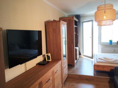 TV/Unterhaltungsangebot in der Unterkunft Apartment Anna