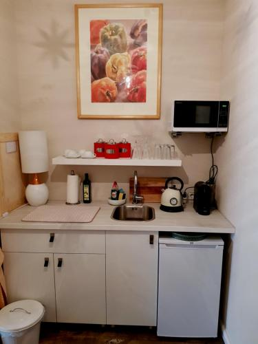 A kitchen or kitchenette at Studio City West