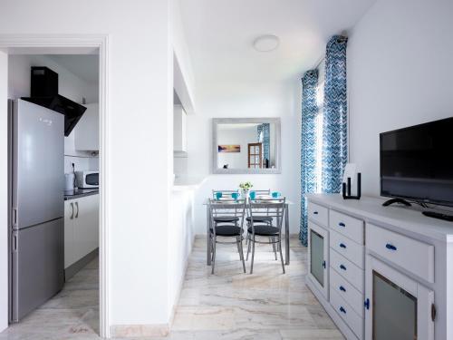 Una cocina o zona de cocina en Pier 2 Apartment