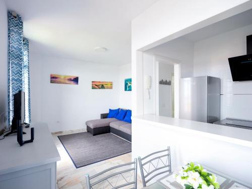 Zona de estar de Pier 2 Apartment