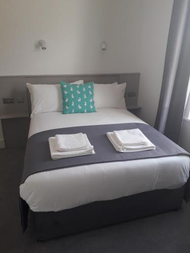 Letto o letti in una camera di Beautiful Stay Dublin