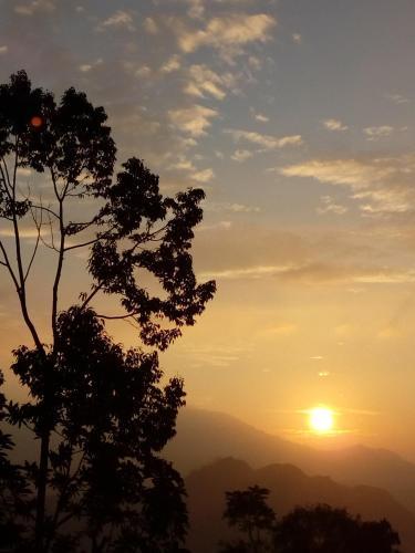 Blick auf den Sonnenuntergang/Sonnenaufgang von des Hostels aus oder aus der Nähe