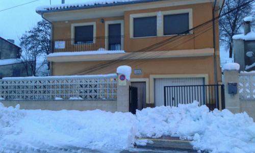 Apartamentos Rurales Carlos during the winter