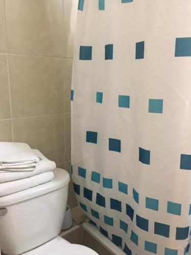 Un baño de Apartamentos en Santiago Centro