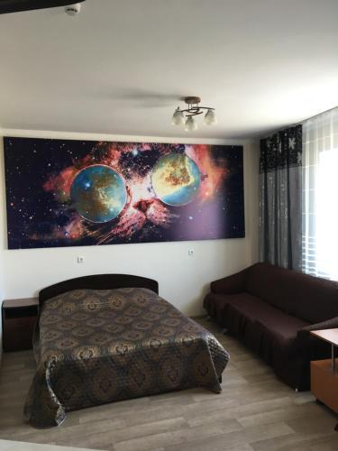 Гостиная зона в Студия Крылова 85
