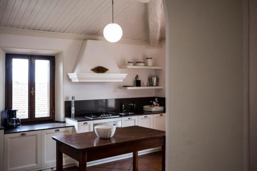 帕德利羅那尼諾度假屋廚房或簡易廚房