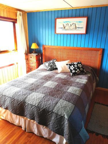 Cama o camas de una habitación en Colores del Puerto