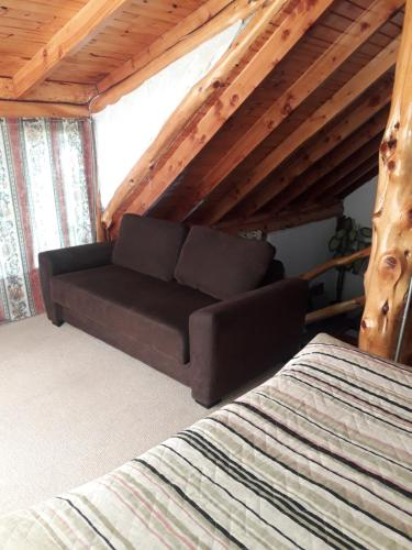 Un lugar para sentarse en Cabaña Tibor