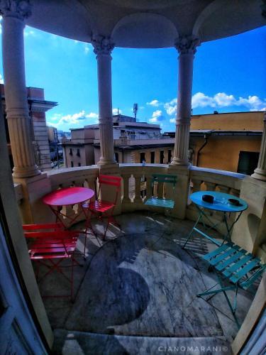 Ein Balkon oder eine Terrasse in der Unterkunft Victoria House