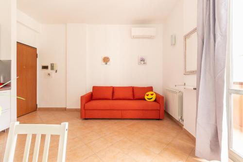 A seating area at Alessia's Flat - Affori