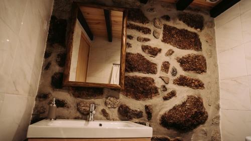 A bathroom at Casa Miguel
