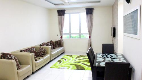 A seating area at Lavender Homestay Penang
