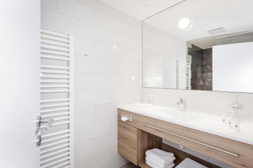A bathroom at Apart am Sonnenhügel