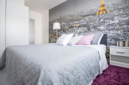 Krevet ili kreveti u jedinici u objektu Apartman Ante